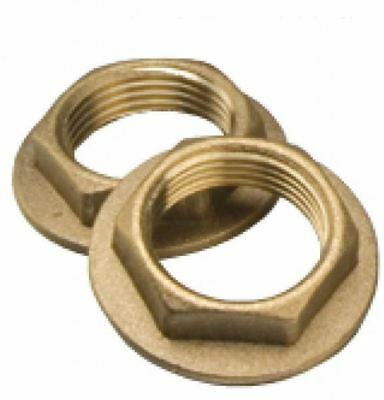 """1"""" Flanged Brass Backnut - PACK OF 5"""