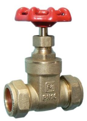 15mm DZR Gate Valve - PACK OF 5