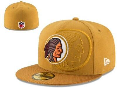 huge discount 6f481 b30a5 NWT Washington Redskins New Era NFL Youth Sideline 59FIFTY Cap Hat 6 5 8 GD