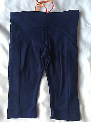 Ted Baker Baby girls' navy quilted leggings Size 3-6 Months