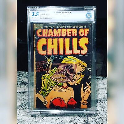 Chamber Of Chills 19 Classic Cover Rare