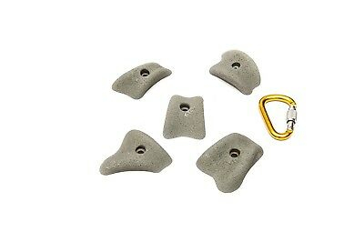 ETCH Mini Positive Pinches Climbing Hold, Grey. Free Shipping