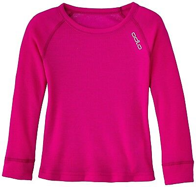 (FR : 8 ans (Taille Fabricant : 128), purple - Violet Pink) - Odlo Underwear