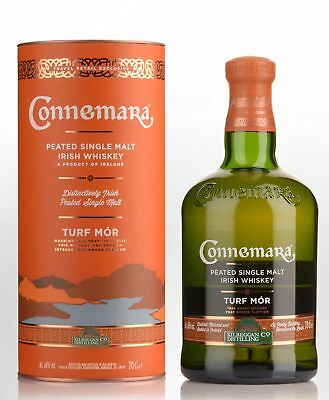 Connemara Turf Mor Peated Single Malt Irish Whiskey (700ml)