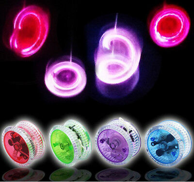 Light Up Yo Yo - Yellow Green Blue Red Pink Purple Suitable For Age 3+