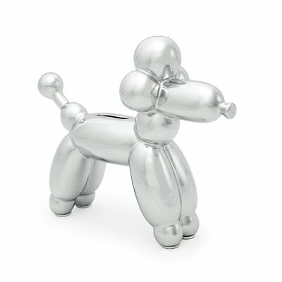 Made By Humans Balloon French Poodle Money Bank - Unique Animal-Shaped Ceramic P