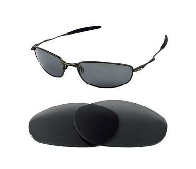 a6e63d81b0783 Polarized Grey Anti Reflective Replacement Lens For Oakley Whisker  Sunglasses