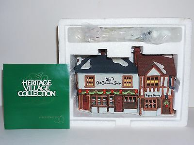 "Department 56 Heritage Dickens Village Light-Up ""Old Curiosity Shop"" (5905-6)"