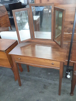 20th century solid wood dressing table