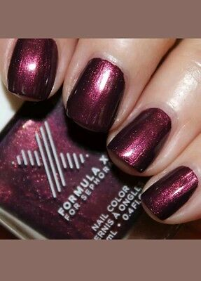 Formula X Nail Color*Infinite* Aubergine Pearl Full Size (An Eggplant Shade)