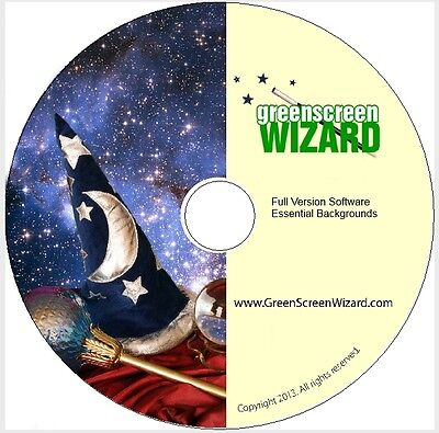 Green Screen Wizard Full Version LIQUIDATION SALE with backgrounds