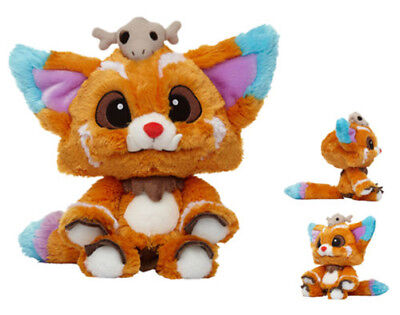 1:1 Size League of Legends LOL 5S Global Finals Gnar Plush Doll Soft Cosplay Toy