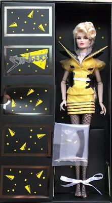 "12/"" FR~Jem And The Holograms Phoebe Rapture Ashe Dressed Doll~The Stingers~NRFB"
