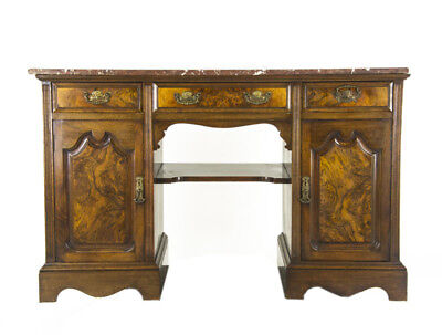Antique Washstand | Marble Hall Table | Walnut Writing Desk | Scotland, 1880 833