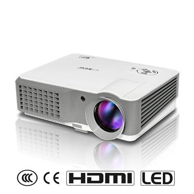 2500 Lumens HD 1080P Movie Projector LCD Multimedia Home Theatre Video
