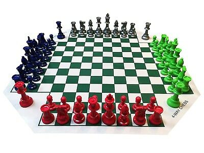 WE Games Four Player Chess Set. Brand New