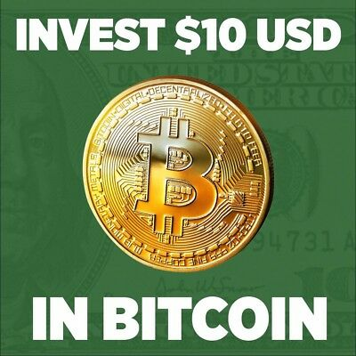 Bitcoin BTC INVESTMENT Direct to your Wallet Address .00025