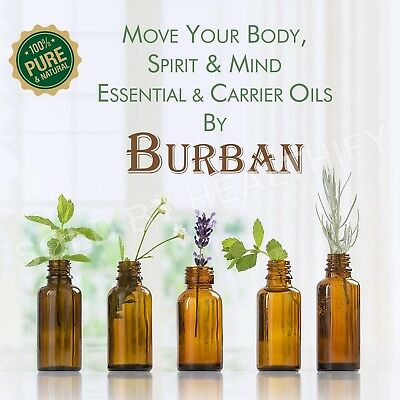 Essential & Carrier Oils 100% Pure & Natural Undiluted Uncut For Aromatherapy