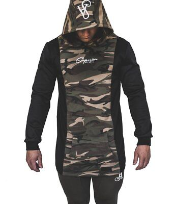 New  Superior Apparel Signature Hoodie - Camo/Black