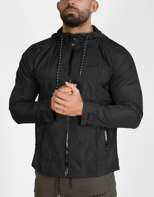 New  ECHT Storm Windbreaker - Stealth Black