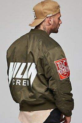 New  Brick City Villin Cult Bomber Jacket