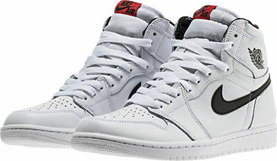 "NEW Air Jordan 1 Retro High OG ""Yin Yang"" White Black 555088-102 Mens Shoes"