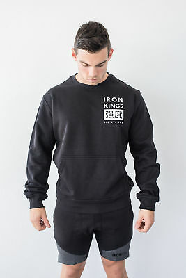 New  Iron Kings Strength Crew Neck Sweater