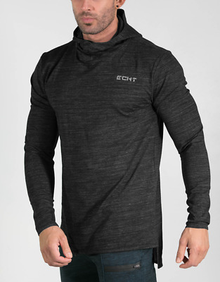 New  ECHT Impetus Dry Pullover Hoodie - Anthracite
