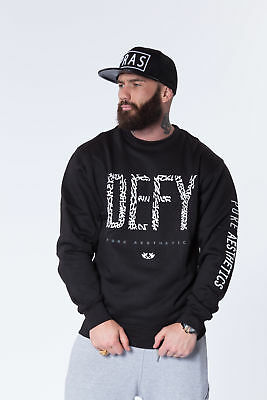 New  Pure Aesthetics DEFY Classic Crew Neck - Black