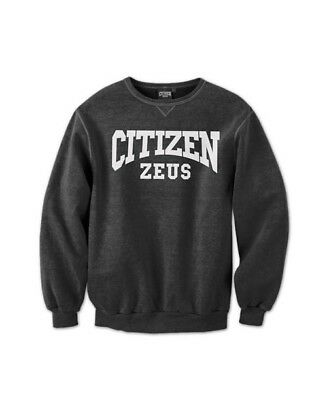 New  Citizen Zeus Crew Neck Sweater - Black
