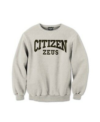 New  Citizen Zeus Crew Neck Sweater - Grey
