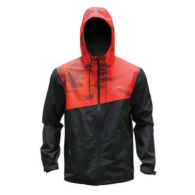 New  Live Fit Recon Tech Jacket - Red Camo