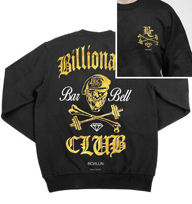 New  Brickcity Villin Billionaire Barbell Crew Neck