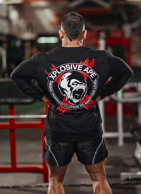 New  Xplosive Ape Classic Sweat Shirt - Black
