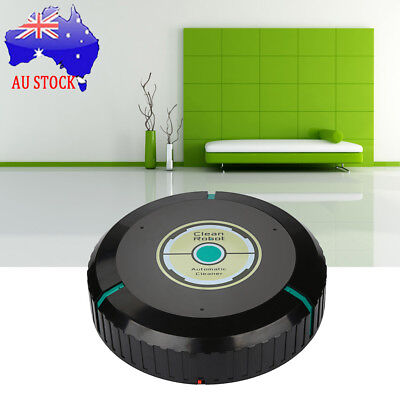 Automatic Robot Robotic Vacuum Cleaner Floor Sweeper Dry Wet Mopping Cleaning AU