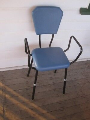 K-Care height adjustable kitchen proping STOOL SEAT max 100kg nice condition