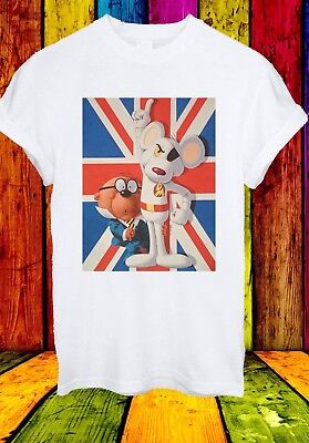 Danger Mouse Penfold British TV Series Cartoon Film Men Women Unisex T-shirt 735
