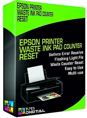 Epson Printer Waste Ink Pad Counter Reset Stylus Photo Service