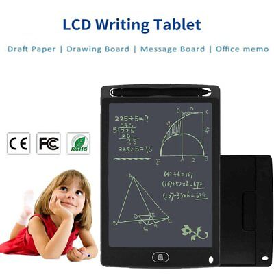 "Electronic Digital LCD Writing Pad Tablet Drawing Graphics Board Notepad 8.5"" ER"