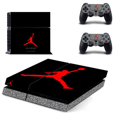 Air Jordan PS4 Skin Sticker Cover For Sony Playstation 4 Console&Controller