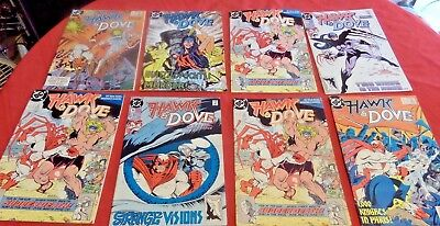 Hawk And Dove Lot Of 8 See Photo For Issue Numbers Dc Nice!!!  Lh6