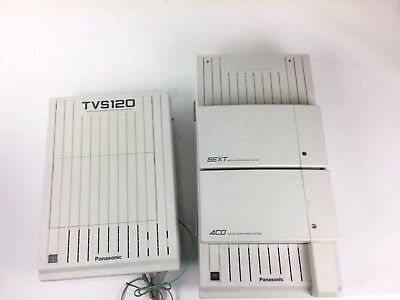 Panasonic KX-TVS120 Voice Processing System & KX-TD 1321 Digital Super Hybrid