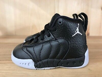 7f12cd122e6e55 JORDAN JUMPMAN PRO Black White Grey Retro Baby Td Sz 4-10 C 909418 ...