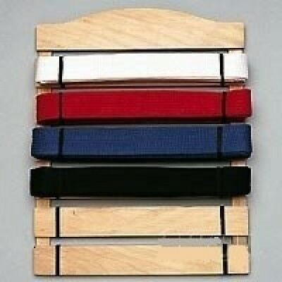 Six Level Martial Arts Karate Belt Display. BBS. Delivery is Free