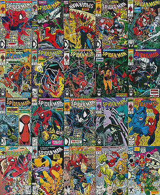 Spider-Man 20 issue Collector gift Set all 9.4 NM MARVEL Todd McFarlane Thanos