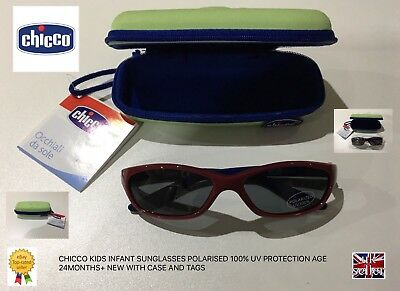ad143ffd2c3 Chicco Kids Infant Sunglasses Polarized 100% Uv Protection Age 24 Months+  New