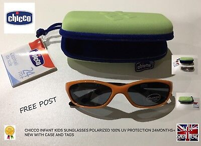 Chicco Kids Infant Sunglasses Polarized 100% Uv Protection Age 24 Months+ New