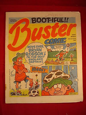 The Buster Comic - 5th October 1985