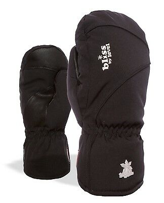 (7.5, Black) - Level Bliss Mummies Mitt Women's Gloves. Delivery is Free