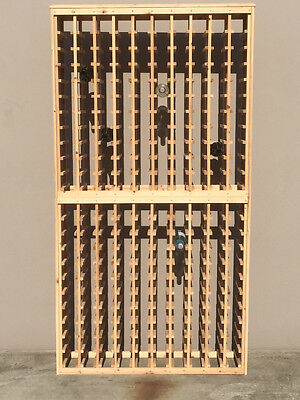220 Bottle Timber Wine Rack. BRAND NEW - Great Christmas gift wine storage